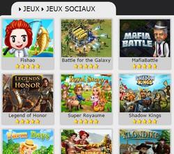jeux sociaux et jeux gratuits